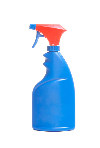 Spray Bottle「Blue spray bottle with red cap」:スマホ壁紙(7)