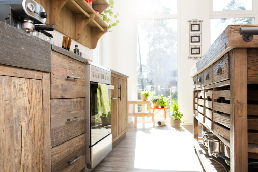Drawer「Country style kitchen in sunlight」:スマホ壁紙(12)
