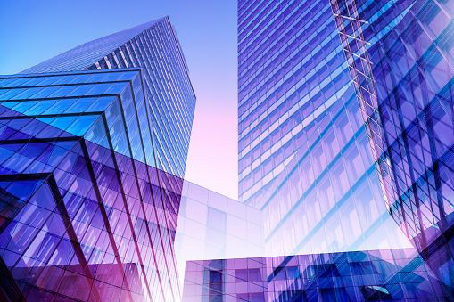 Multiple Exposure「High-rise office buildings」:スマホ壁紙(15)