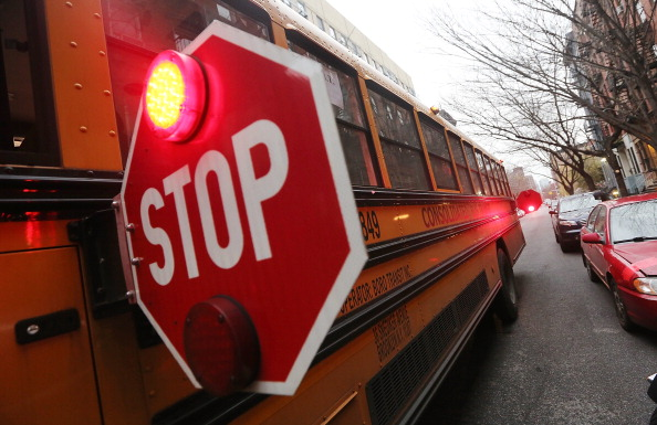 School Bus「New York City School Bus Drivers On Verge Of Strike」:写真・画像(6)[壁紙.com]