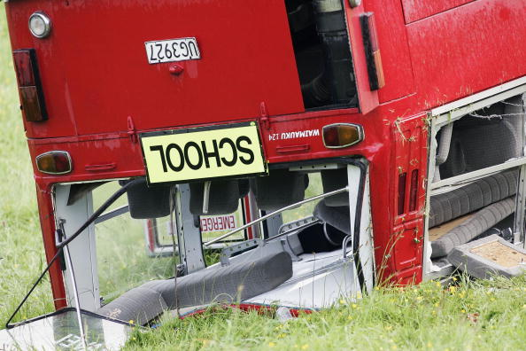 School Bus「Students Injured In School Bus Crash」:写真・画像(11)[壁紙.com]
