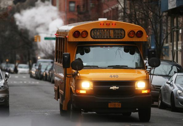 School Bus「New York City School Bus Drivers On Verge Of Strike」:写真・画像(10)[壁紙.com]