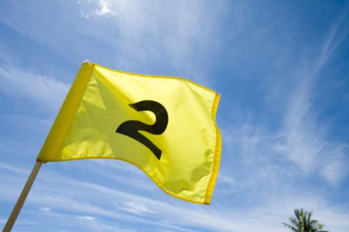 Northern Mariana Islands「Yellow Flag Flattering in Wind」:スマホ壁紙(4)