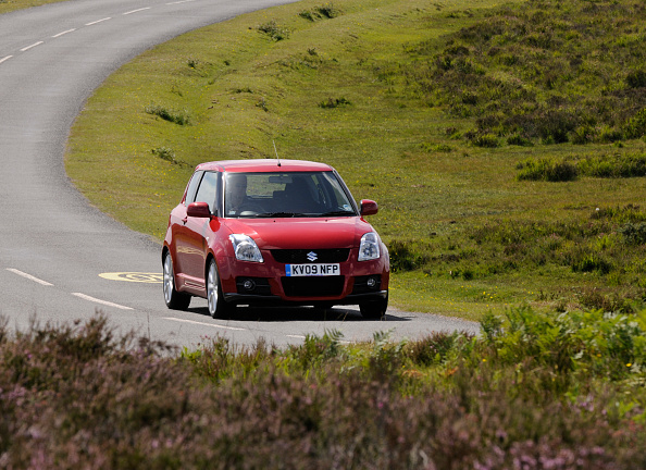 Country Road「2009 Suzuki Swift Sport」:写真・画像(3)[壁紙.com]