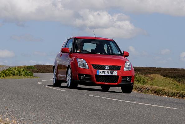 Speed「2009 Suzuki Swift Sport」:写真・画像(13)[壁紙.com]