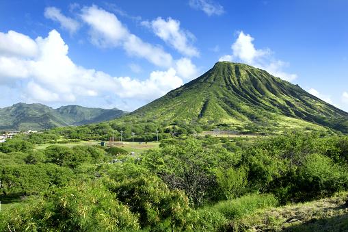 Oahu「Diamond Head Volcano」:スマホ壁紙(12)