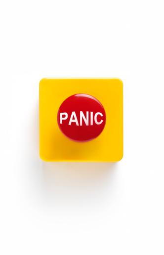 Alertness「Panic button on white background」:スマホ壁紙(19)