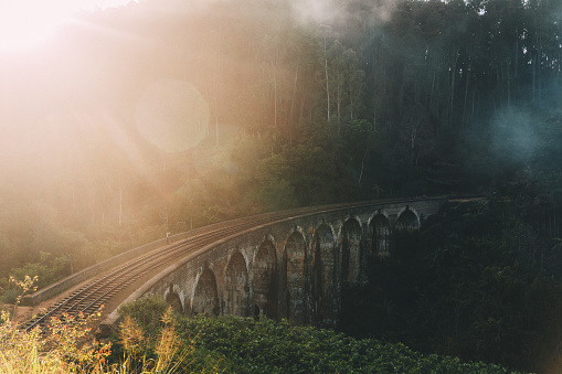 Sri Lanka「Nine Arch Bridge in Sri Lanka」:スマホ壁紙(2)