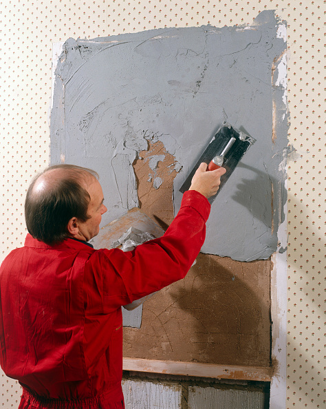 Renovation「Rendering inside wall with a cement based plaster」:写真・画像(18)[壁紙.com]