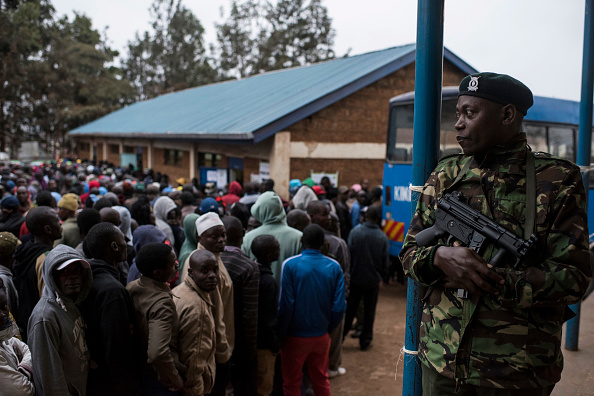 Kenya「Kenyans Head To The Polls For Presidential Election」:写真・画像(19)[壁紙.com]