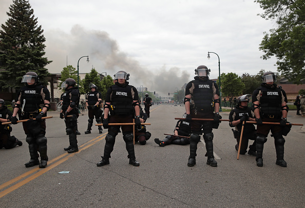 Police Force「Protests Continue Over Death Of George Floyd, Killed In Police Custody In Minneapolis」:写真・画像(5)[壁紙.com]