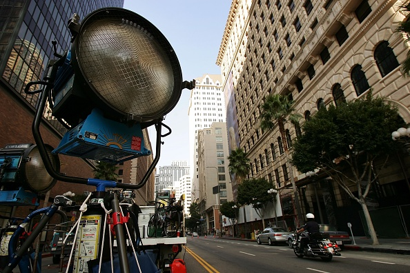 Film Set「New Study Finds Hollywood Film Industry To Be Major Polluter」:写真・画像(1)[壁紙.com]