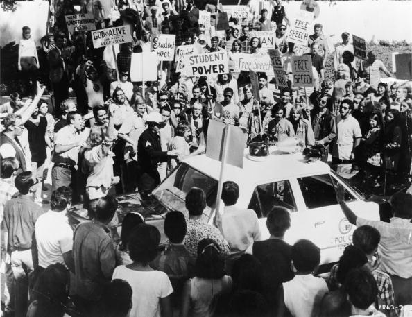 Democratic Party - USA「Protestors Surround Police Car Outside 1968 Democratic National Convention」:写真・画像(14)[壁紙.com]