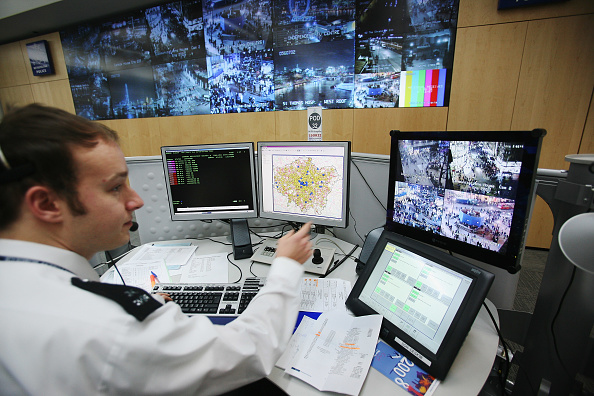 Surveillance「Security Heightened As London Prepares for New Year」:写真・画像(19)[壁紙.com]