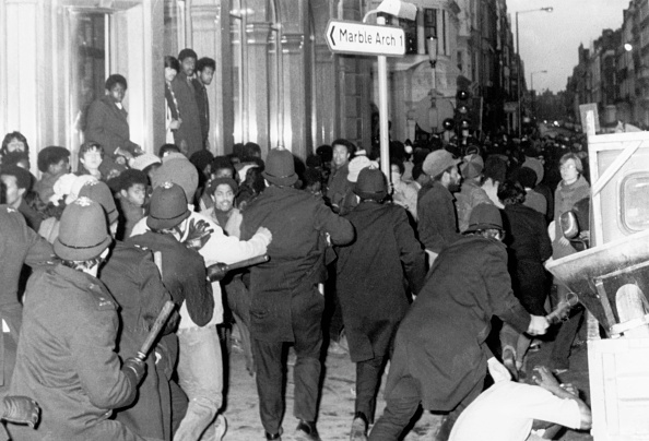 Black History in the UK「Police Charging Demo in Wimpole Street」:写真・画像(12)[壁紙.com]