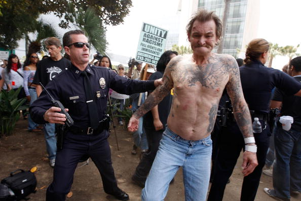 Patience「National Socialist Movement Holds Rally In Los Angeles」:写真・画像(15)[壁紙.com]