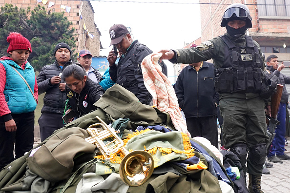 Recovery「Political And Social Crisis Continue In Bolivia After Evo Morales Leaves The Country」:写真・画像(6)[壁紙.com]