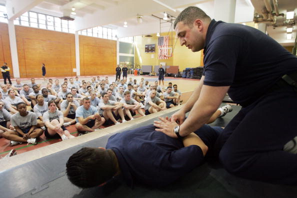 Workshop「Recruits Train As NYPD Plans Major Expansion」:写真・画像(0)[壁紙.com]