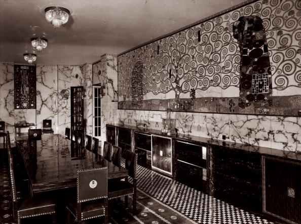Dining Room「Dining hall of the Stoclet Palace」:写真・画像(13)[壁紙.com]