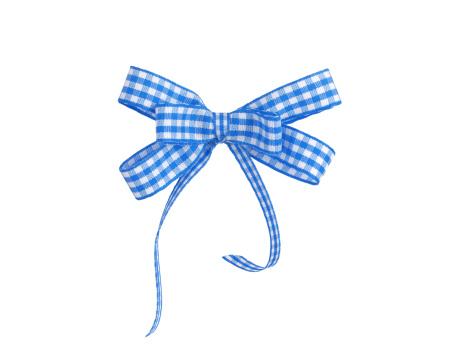タータンチェック「ブルーの格子柄リボン」:スマホ壁紙(4)