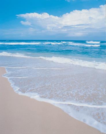 オアフ島「Waimea Bay, Oahu, Hawaiian Islands」:スマホ壁紙(6)