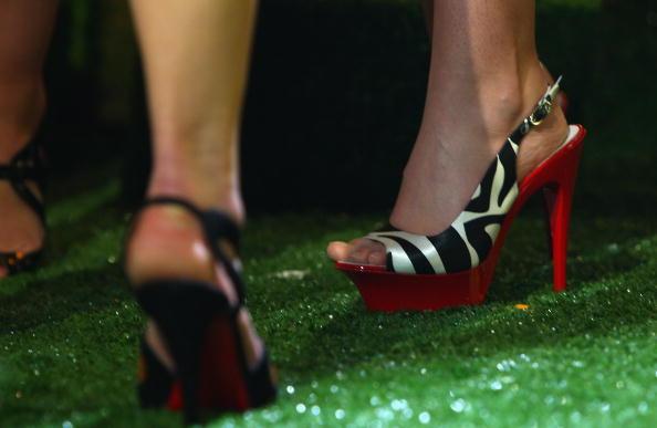 Slingback Shoe「Brit Awards 2009: Shortlist Announced - Performance」:写真・画像(12)[壁紙.com]
