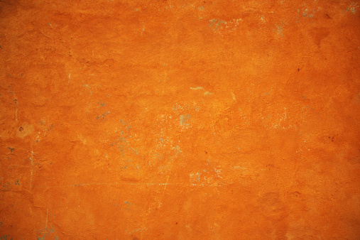 Rusty「Golden orange grunge wall texture」:スマホ壁紙(6)