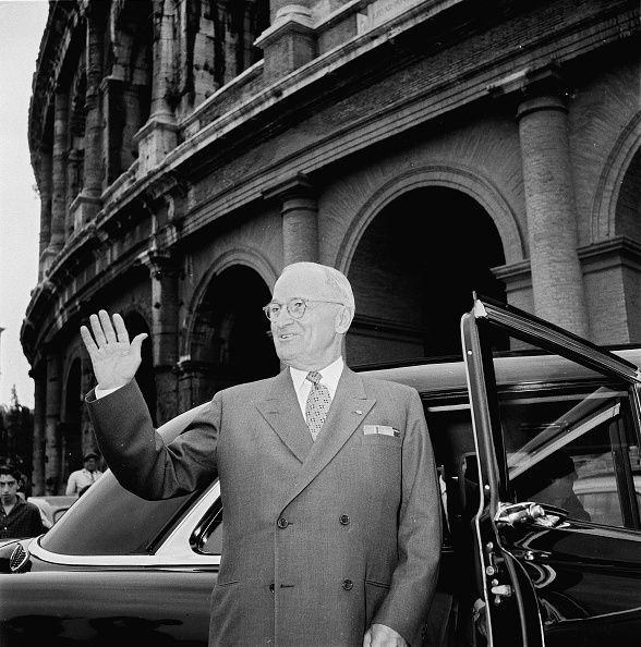 Harry Truman「Harry S. Truman at the Colosseum」:写真・画像(6)[壁紙.com]