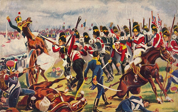 Patriotism「The Sherwood Foresters The Advance Of The Sherwood Foresters At Salamanca」:写真・画像(13)[壁紙.com]