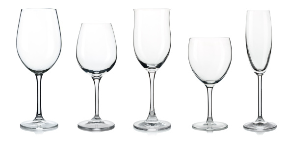 White Background「Wine glasses」:スマホ壁紙(7)