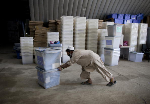 Kabul「Afghans Go To the Polls For Parliamentary Elections」:写真・画像(0)[壁紙.com]