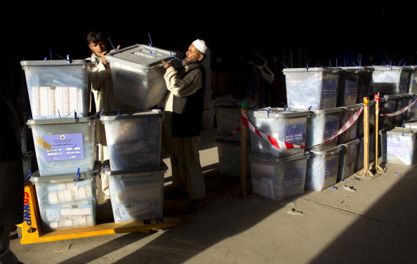 Kabul「Afghans Go To the Polls For Parliamentary Elections」:写真・画像(4)[壁紙.com]