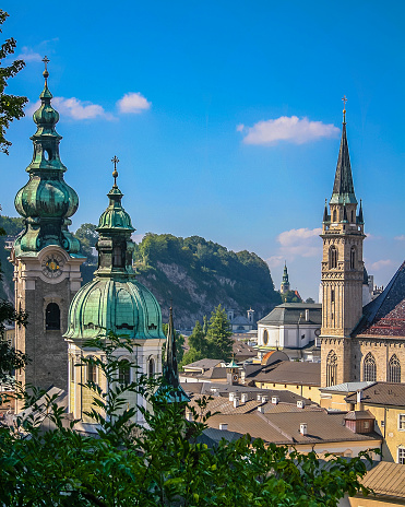 Austria「Steeples and domes of Salzurg」:スマホ壁紙(0)