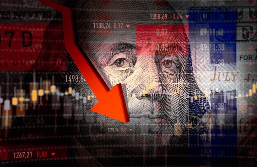 American One Hundred Dollar Bill「Economy Crash」:スマホ壁紙(19)