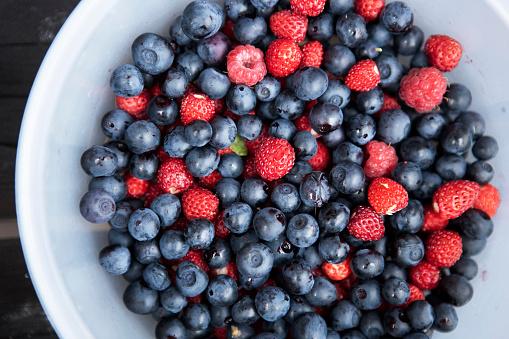 Raspberry「Mixed Bowl of Berries」:スマホ壁紙(18)
