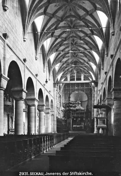 Benedictine「Seckau: Benedictine Monastery. Interior Of The Abbey Church. About 1910. Photograph By Bruno Reiffenstein (No. 2931).」:写真・画像(17)[壁紙.com]