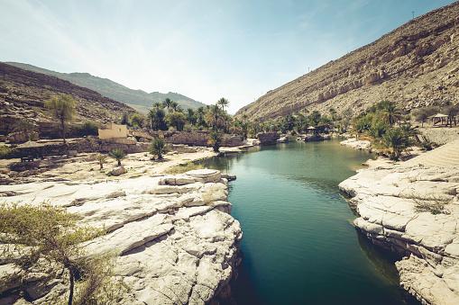 Riverbed「wadi bani khalid, ash sharqiyah region, oman」:スマホ壁紙(9)