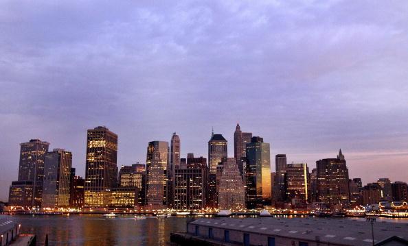 Manhattan - New York City「The Sun Rises Over The Manhattan Skyline」:写真・画像(12)[壁紙.com]
