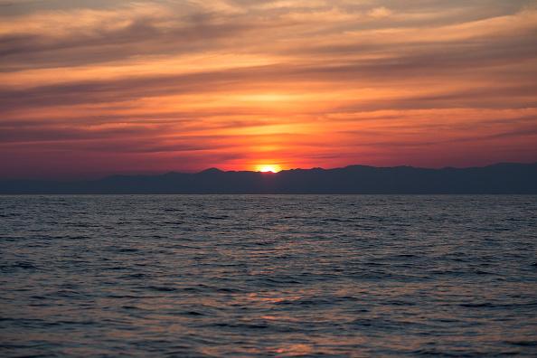Sea「On Duty With A Frontex Crew As They Patrol The Aegean Sea」:写真・画像(6)[壁紙.com]
