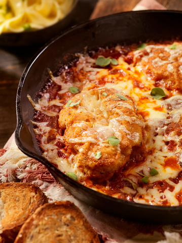 Tomato Sauce「Chicken Parmesan Baked in Tomato Sauce with Mozzarella Cheese」:スマホ壁紙(19)