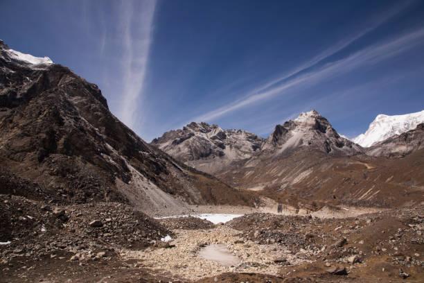 Fifth Lake near Gokyo, Everest Base Camp via Gokyo Trek, Nepal:スマホ壁紙(壁紙.com)