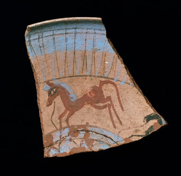 Pottery「Rim Shard Showing Galloping Horse」:写真・画像(10)[壁紙.com]