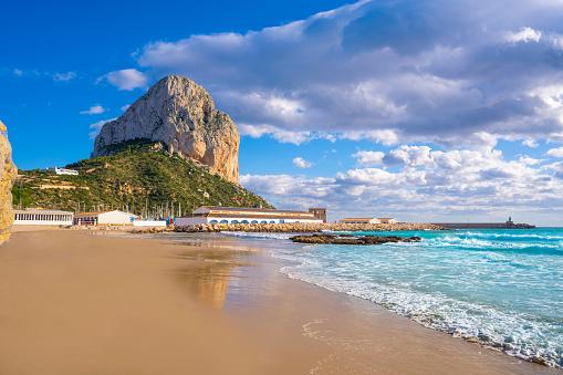 Mediterranean Sea「Calpe Calp Cantal Roig beach of Alicante」:スマホ壁紙(10)