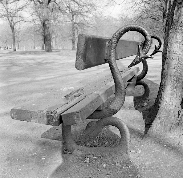 Kensington Gardens「Bench In Kensington Gardens」:写真・画像(13)[壁紙.com]