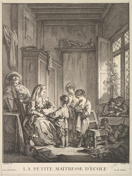 18th Century Style「The Little Schoolmistress」:写真・画像(11)[壁紙.com]