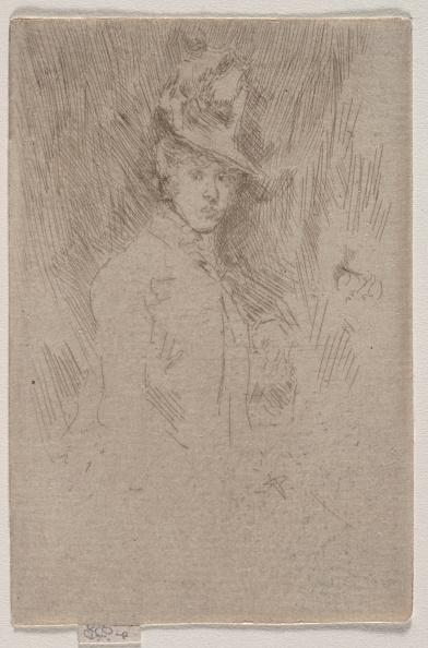 Creativity「The Little Hat. Creator: James Mcneill Whistler (American」:写真・画像(17)[壁紙.com]