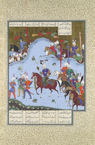 Hiding「Bahram Gur Advances By Stealth Against The Khaqan」:写真・画像(18)[壁紙.com]