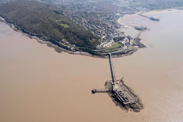 Weston-super-Mare「Birnbeck Pier」:写真・画像(0)[壁紙.com]