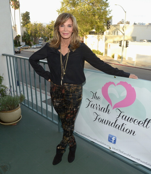 Jaclyn Smith「Farrah Fawcett 5th Anniversary Reception」:写真・画像(2)[壁紙.com]
