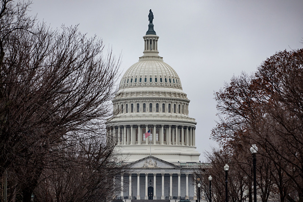 Overcast「Capitol Hill Prepares Ahead Of Full House Vote On Impeachment Articles This Week」:写真・画像(10)[壁紙.com]